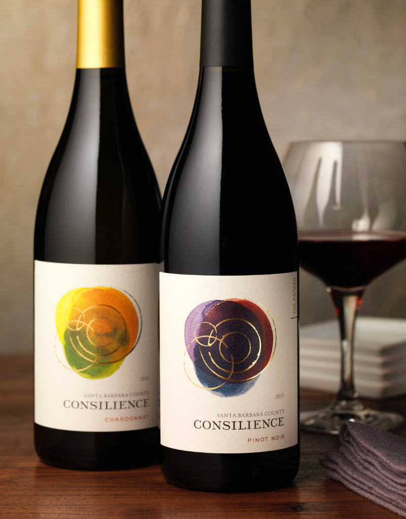 Consilience Wine Packaging Design & Logo