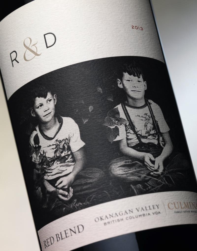 R & D Wine Packaging Design & Logo Label Detail