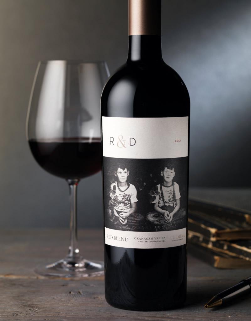 R & D Wine Packaging Design & Logo