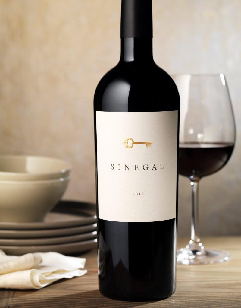 Sinegal Estate Wine Packaging Design & Logo