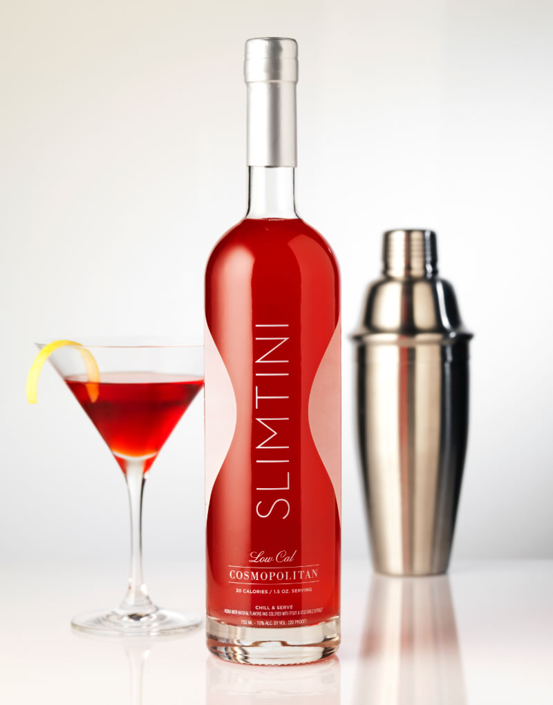 Slimtini Spirits Packaging Design & Logo