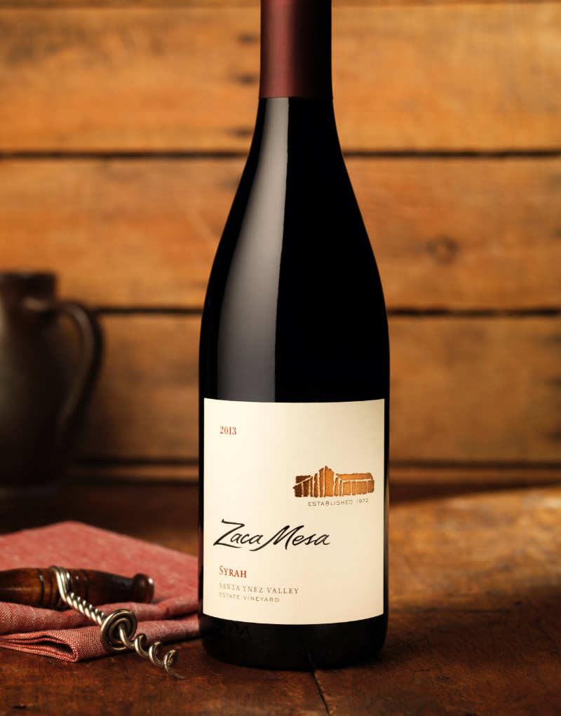 Zaca Mesa Wine Packaging Design & Logo