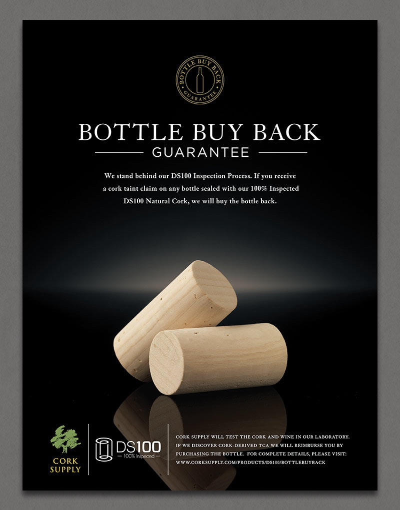Cork Supply USA Ad Design
