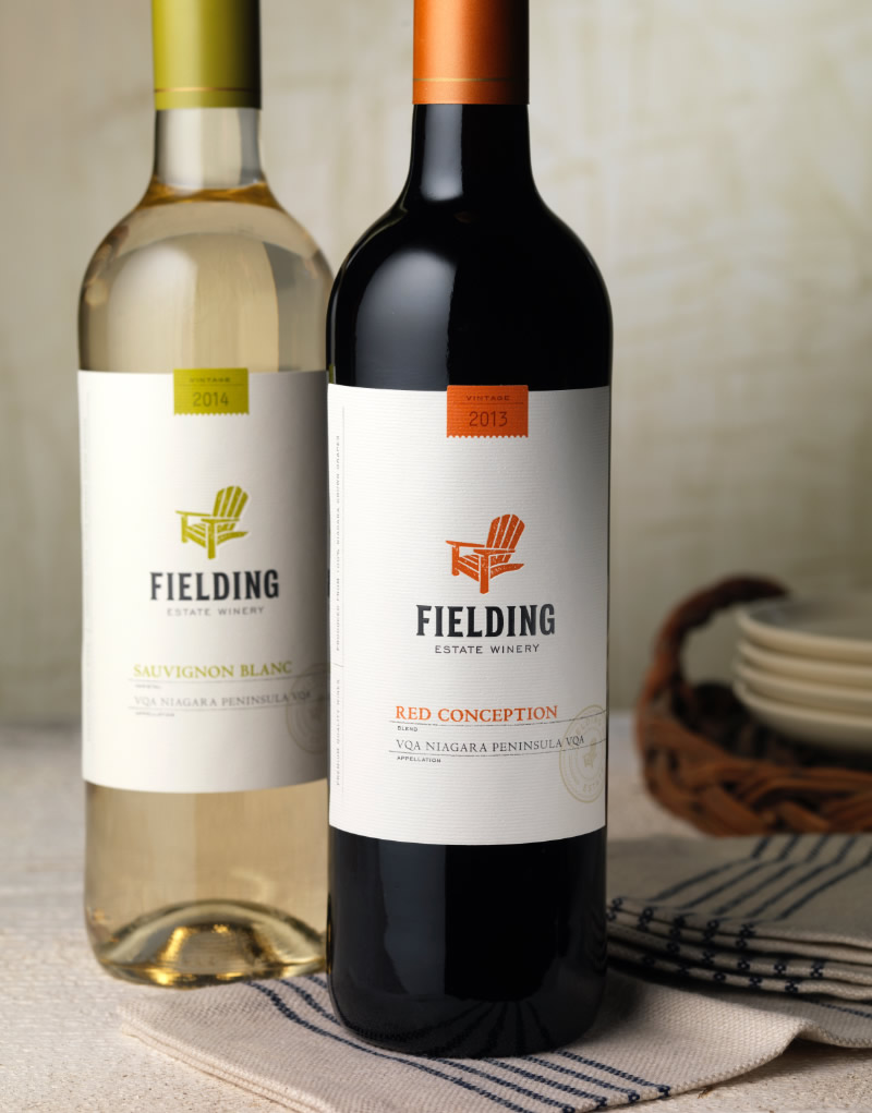 Fielding Estate Winery Packaging Design & Logo