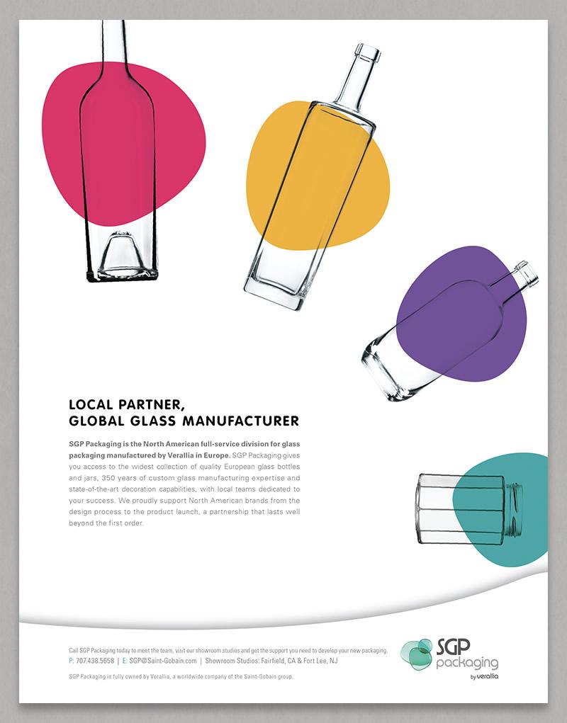 SGP Packaging Ad Design