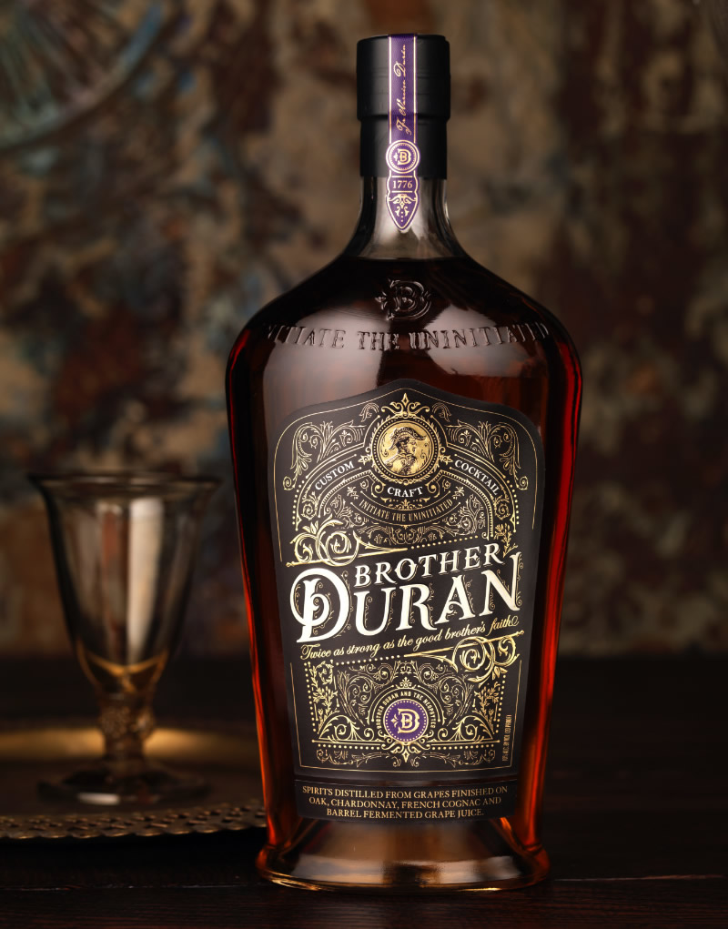Brother Duran Brandy Packaging Design & Logo