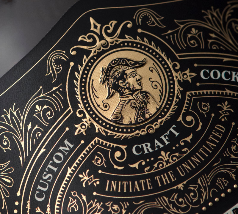 Brother Duran Brandy Packaging Design & Logo Label Detail