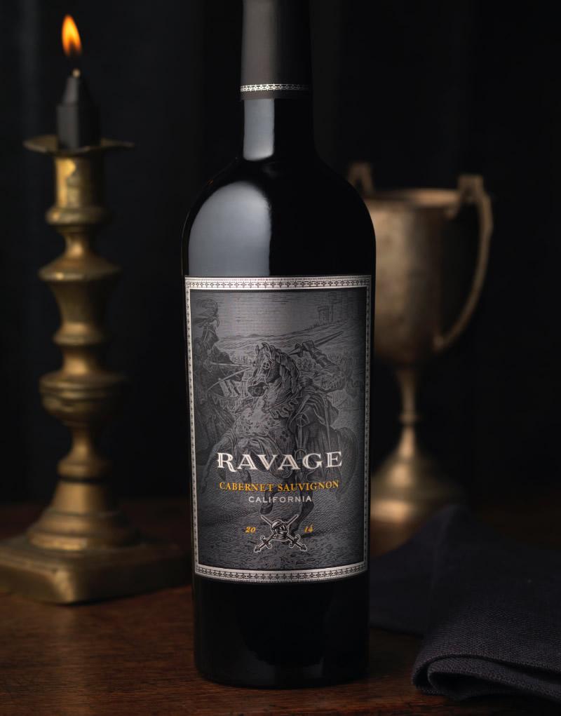 Ravage Wine Packaging Design & Logo