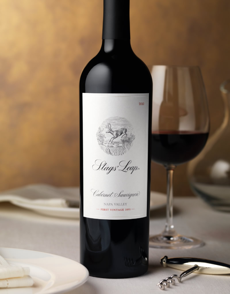 Stags' Leap Winery Packaging Design & Logo Napa Valley Cabernet Sauvignon