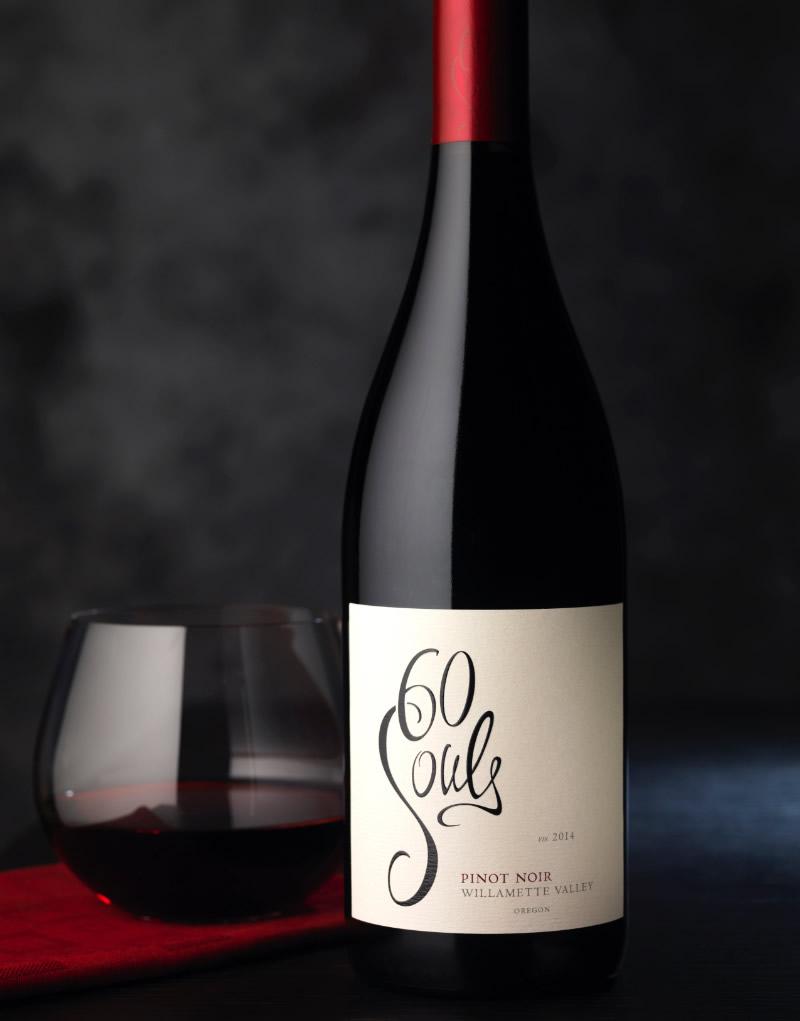 60 Souls Wine Packaging Design & Logo