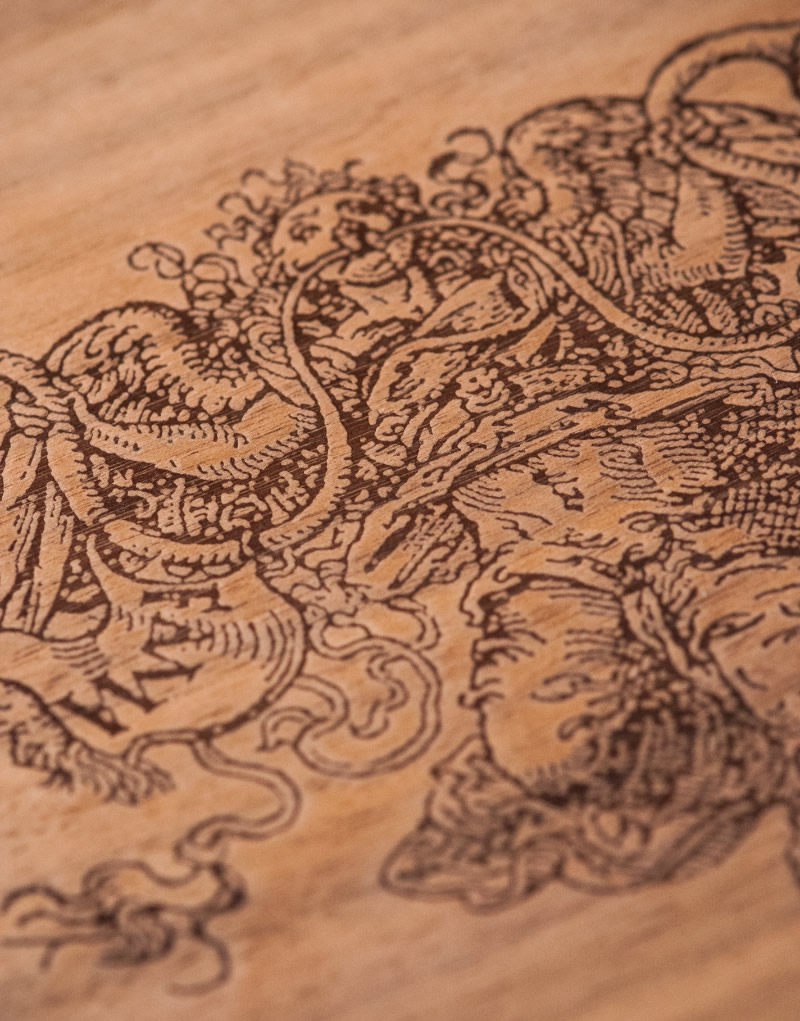 Foretell Wood Box Design Detail