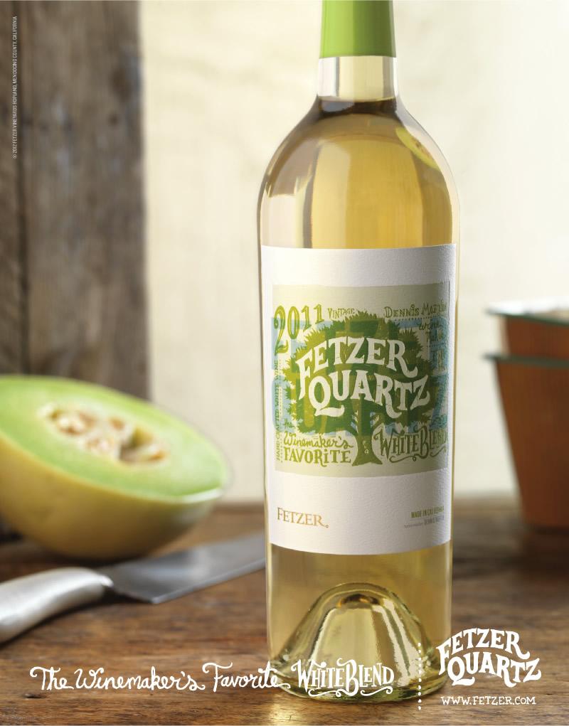 Fetzer Quartz Print Ad Design
