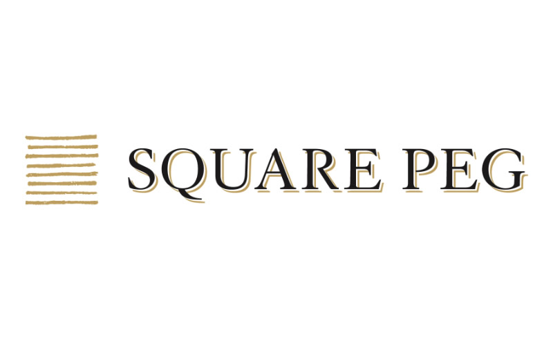 Square Peg Logo Design