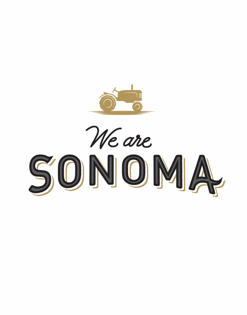 We are Sonoma Logo Design