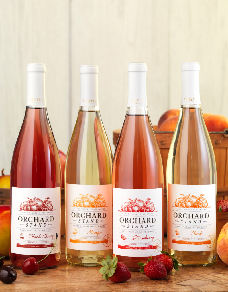Orchard Stand Wine Packaging Design & Logo