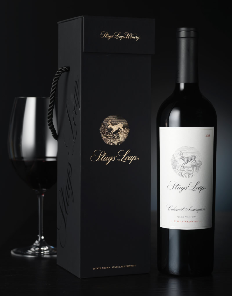 Stags' Leap Winery Gift Box Design