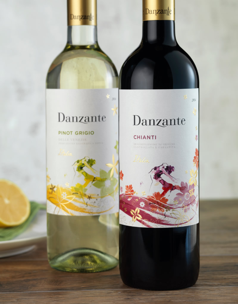 Danzante Wine Packaging Design & Logo