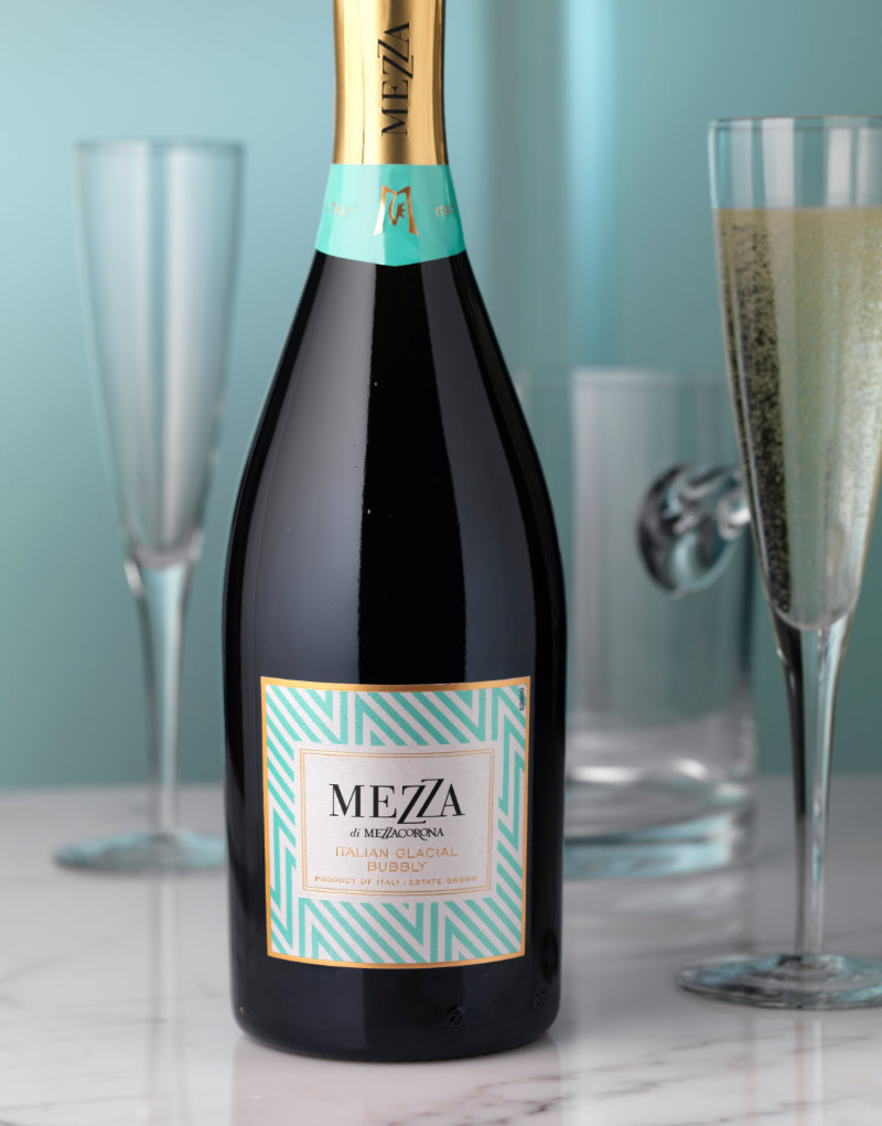 Mezza Wine Packaging Design & Logo
