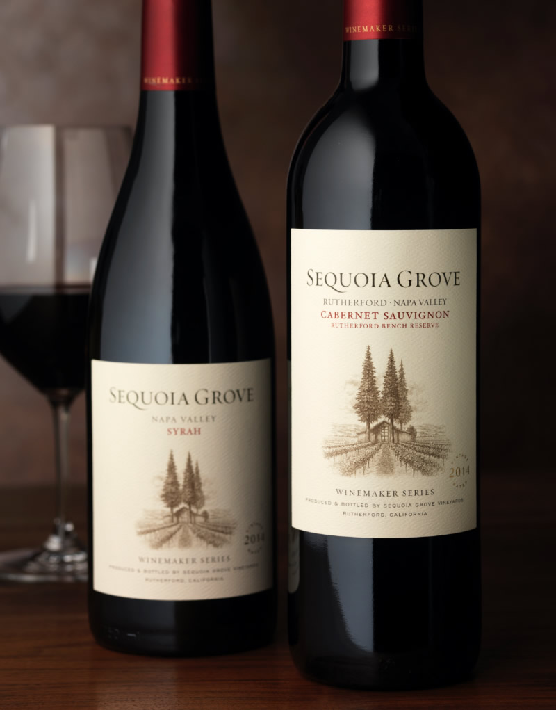 Sequoia Grove Wine Packaging Design & Logo Winemaker Series