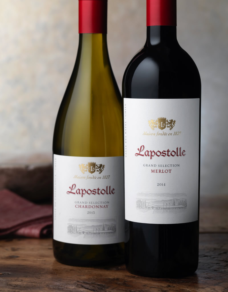 Lapostolle Wine Packaging Design & Logo Grand Selection