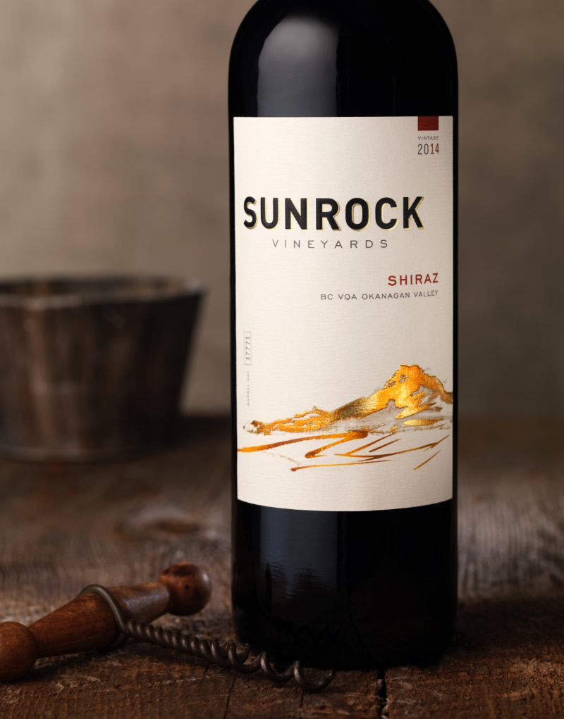 Sunrock Wine Packaging Design & Logo