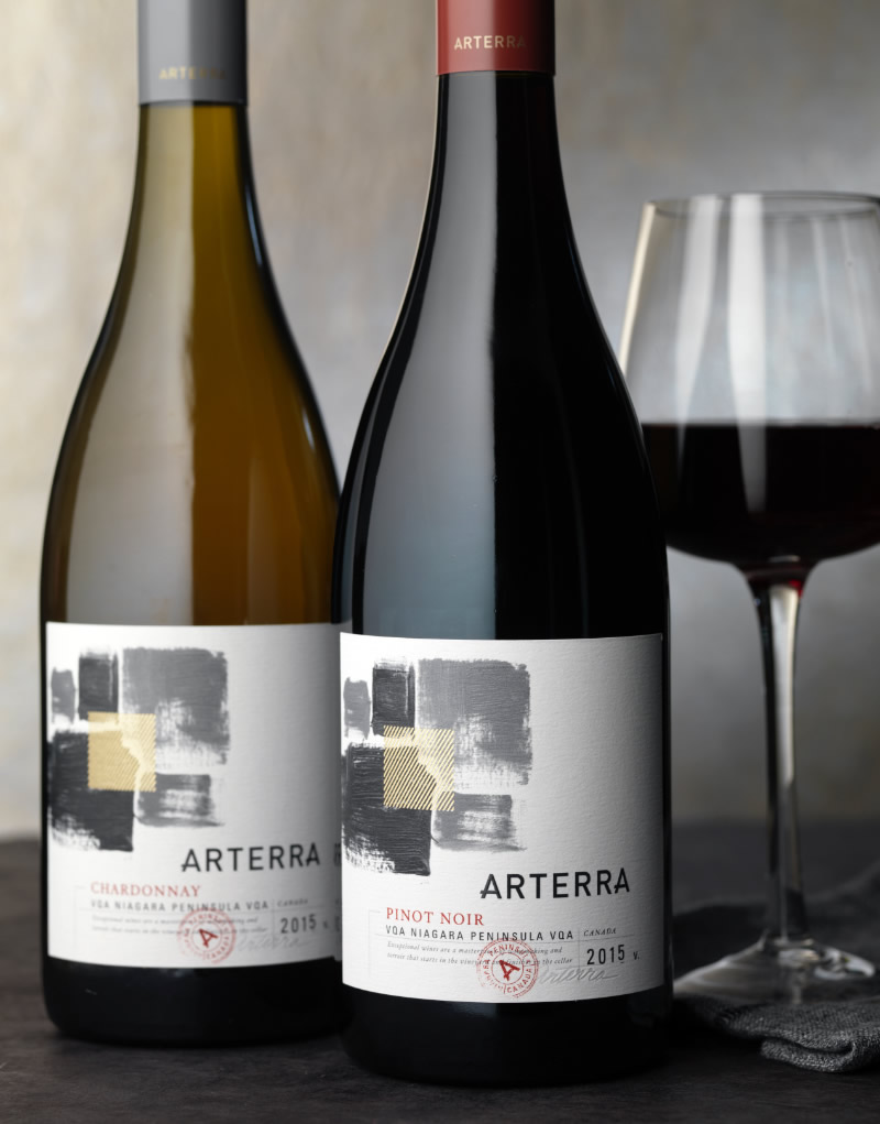 Arterra Wine Packaging Design & Logo
