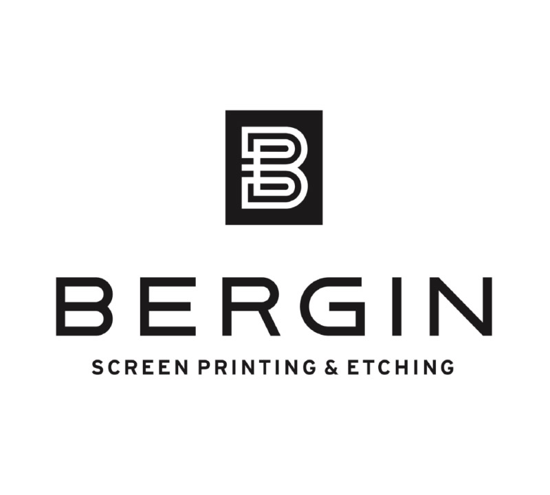 Bergin Screen Printing & Etching Logo Design
