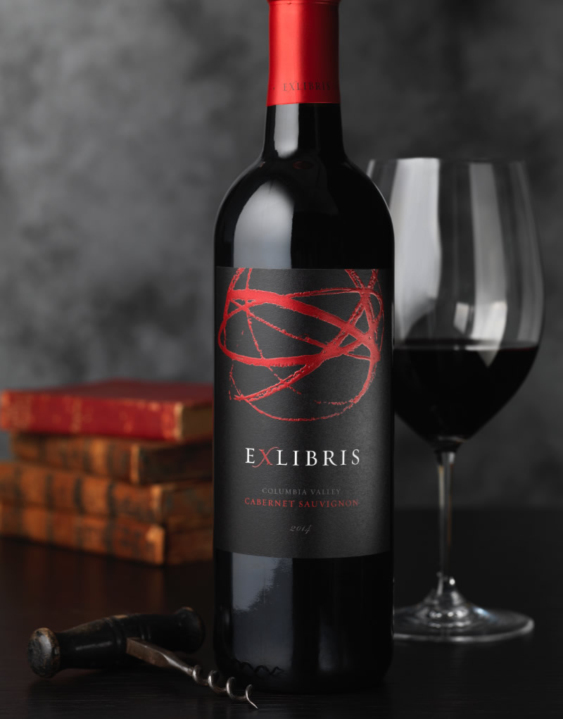 Exlibris Wine Packaging Design & Logo