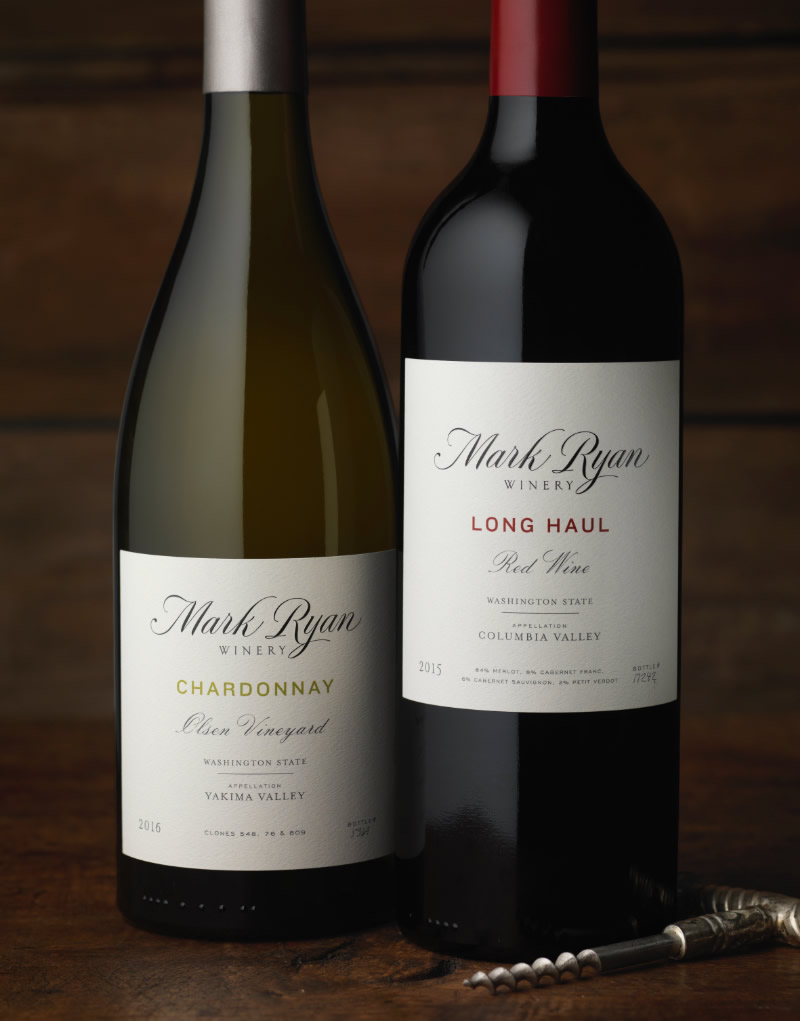 Mark Ryan Winery Packaging Design & Logo