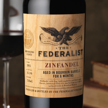 Federalist Bourbon Barrel Aged Red Wine