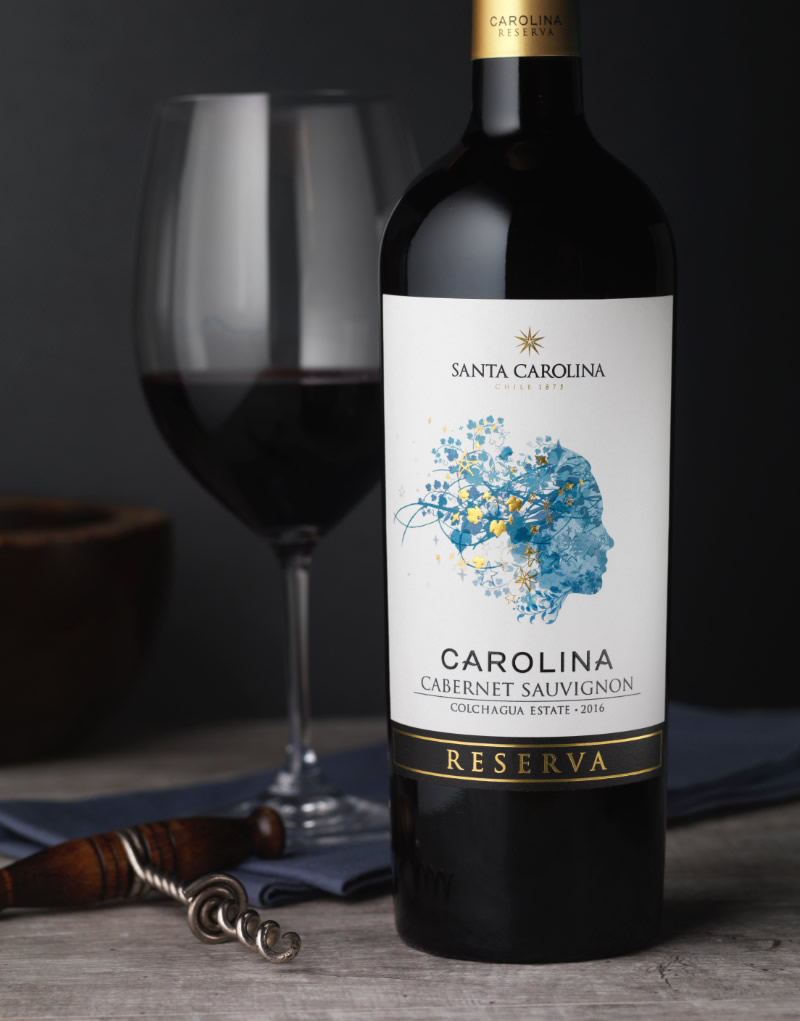 Carolina Wine Packaging Design & Logo