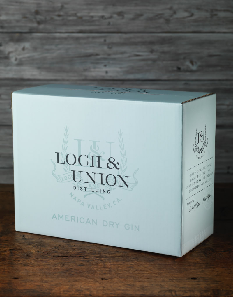 Loch & Union Distilling Shipper Design