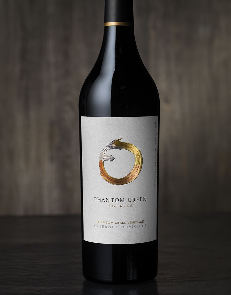 Phantom Creek Estates Wine Packaging Design & Logo