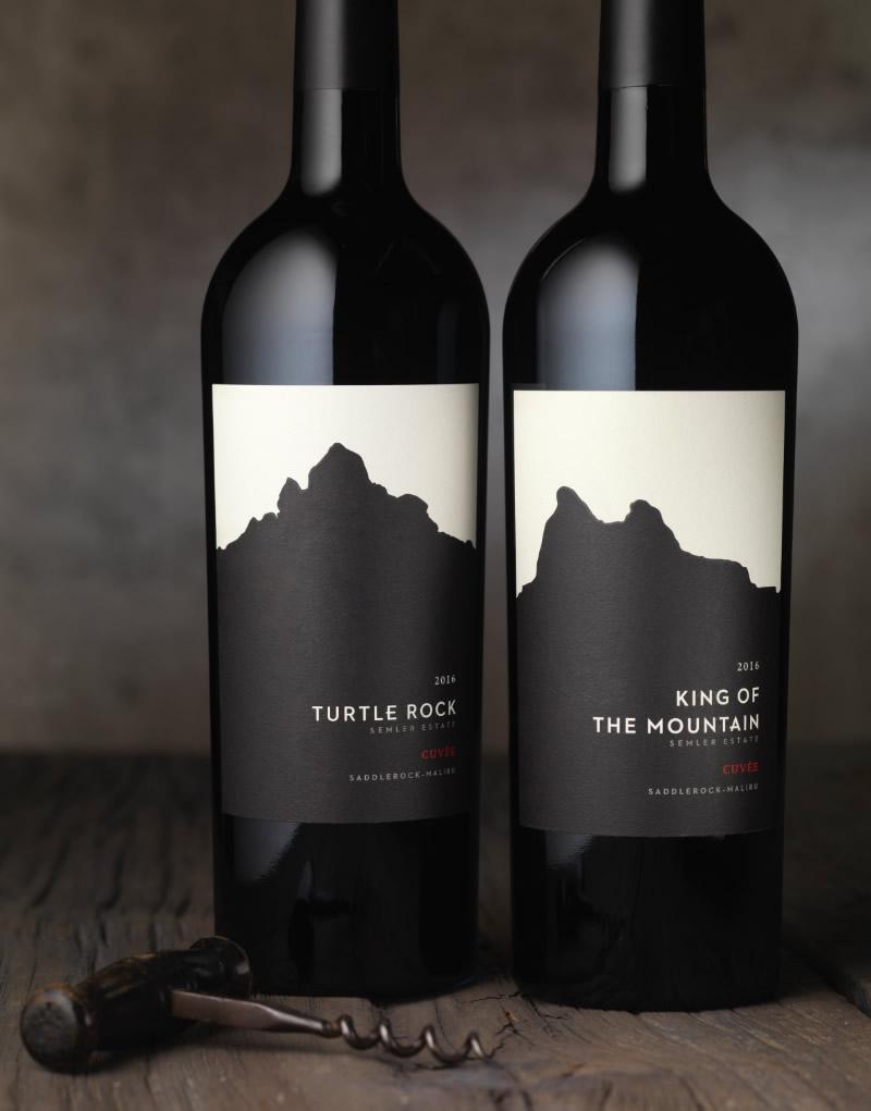 Semler Wine Packaging Design & Logo