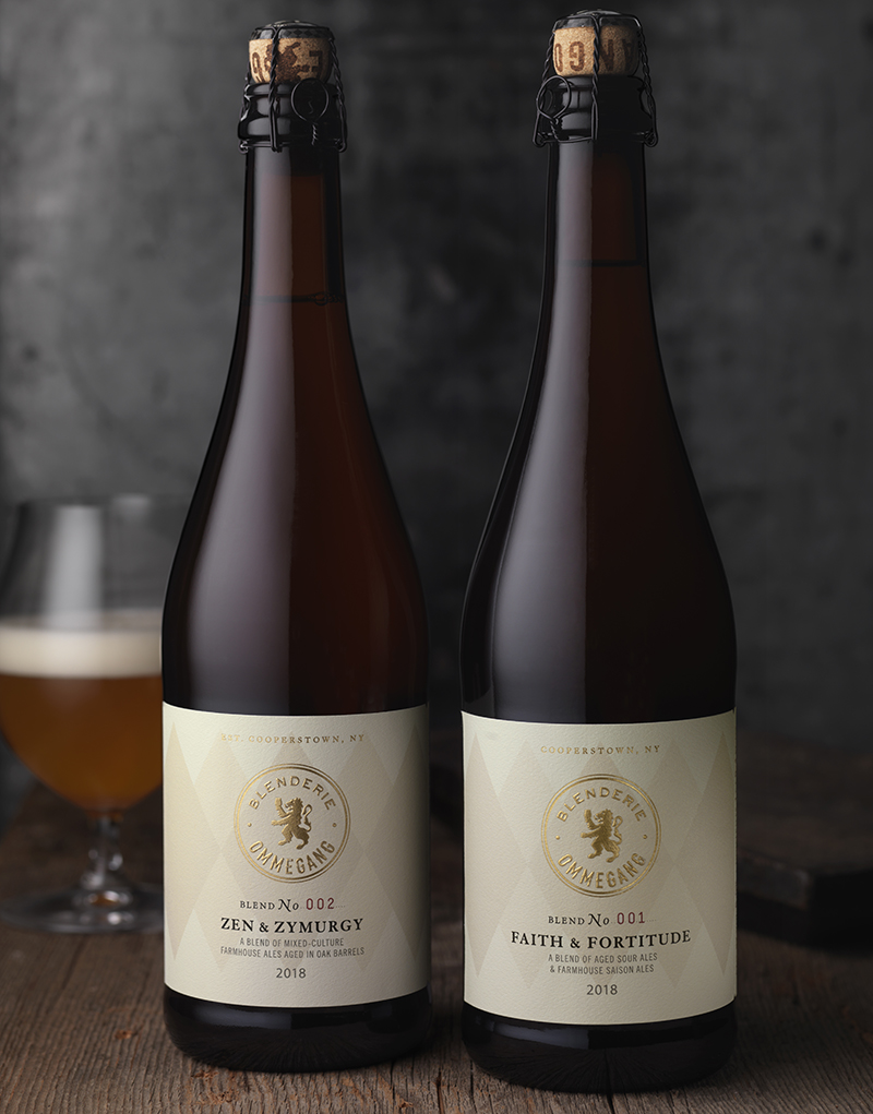 Blenderie Ommegang Beer Packaging Design & Logo