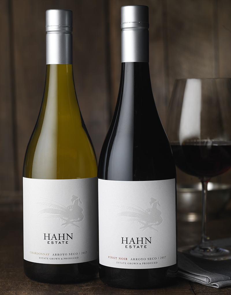 Hahn Family Wines Packaging Design & Logo Estate