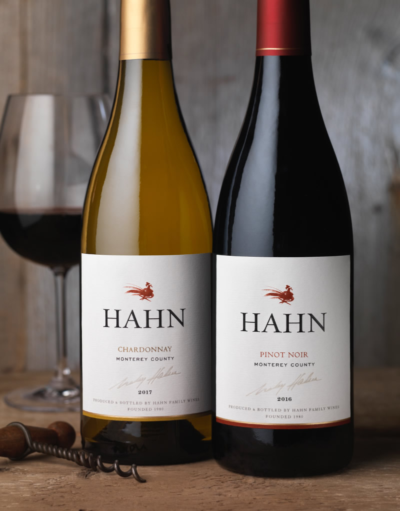 Hahn Family Wines Packaging Design & Logo