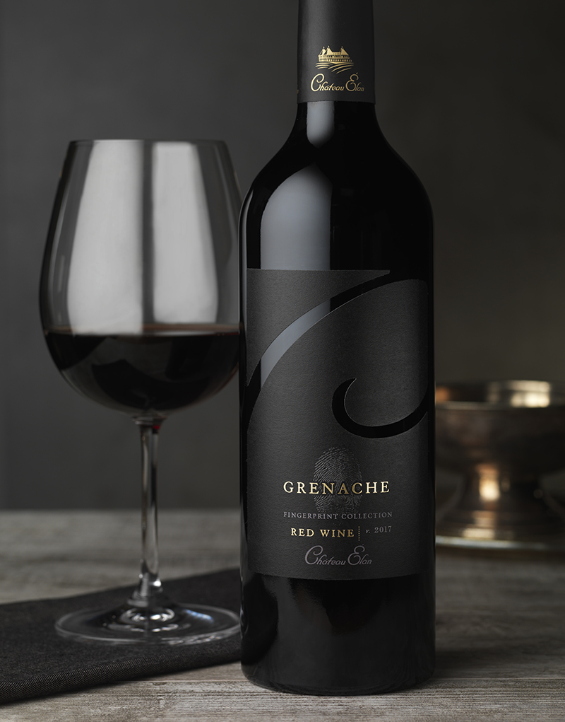 Château Élan Wine Packaging Design & Logo Fingerprint Collection