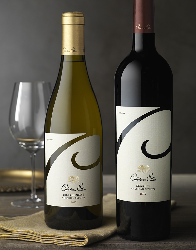 Château Élan Wine Packaging Design & Logo