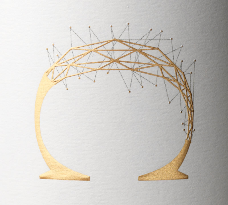 Conclusion Wine Packaging Design & Logo Close Up