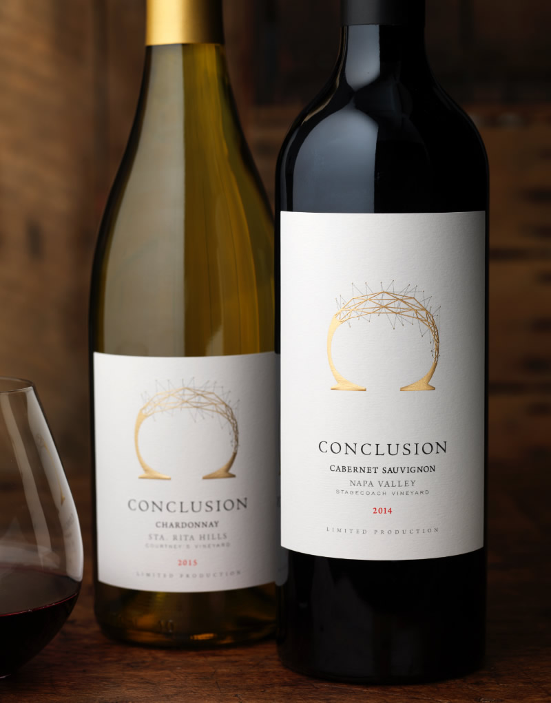 Conclusion Wine Packaging Design & Logo