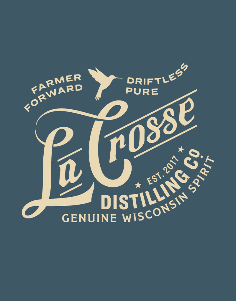 La Crosse Distilling Co. Logo Design