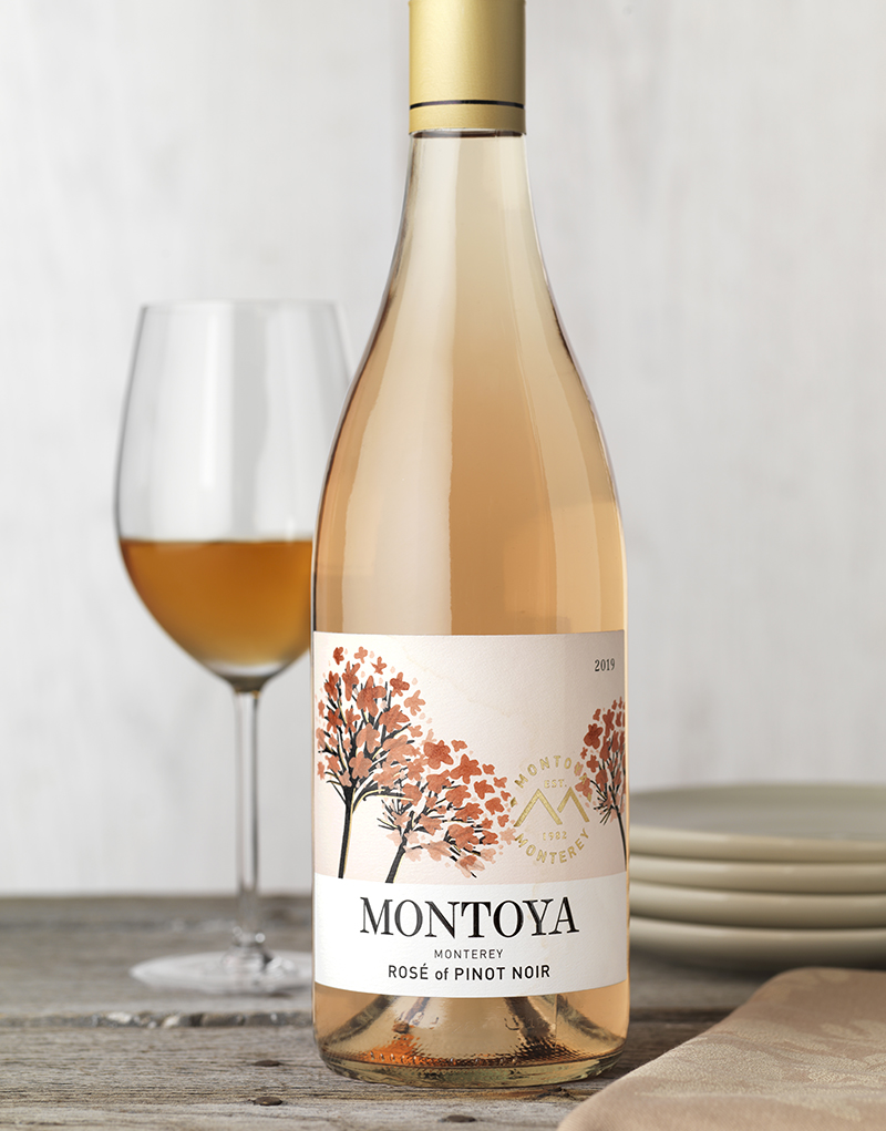 Montoya Rosé Wine Packaging Design & Logo