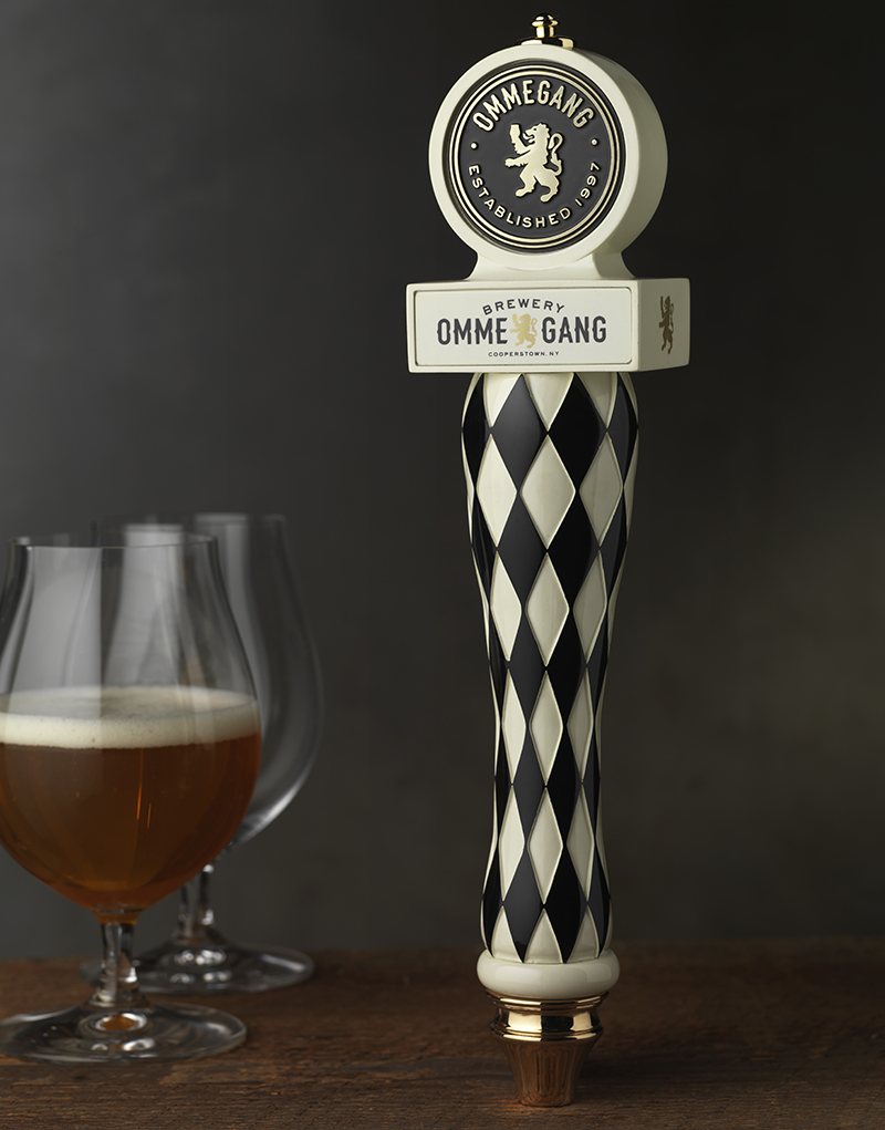 Brewery Ommegang Tap Handle Design