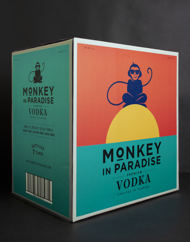 Monkey In Paradise Shipper Design