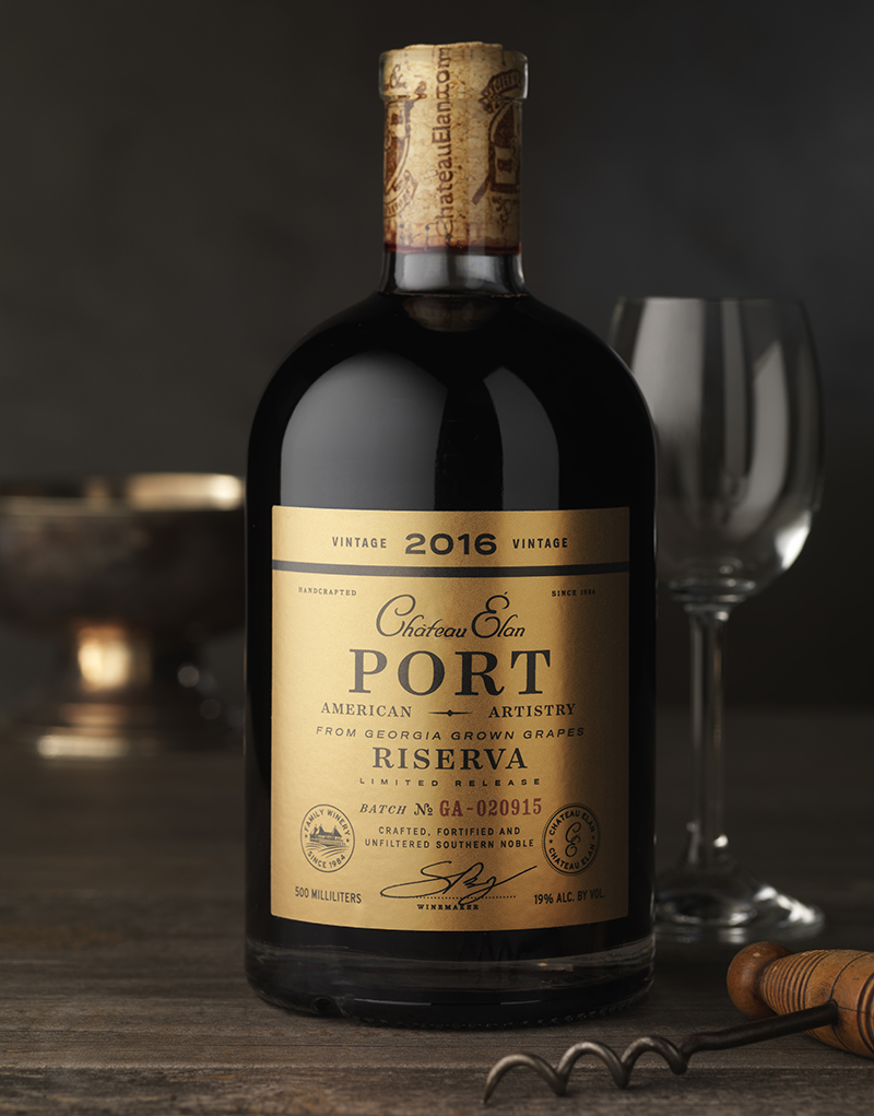 Château Élan Port Packaging Design & Logo