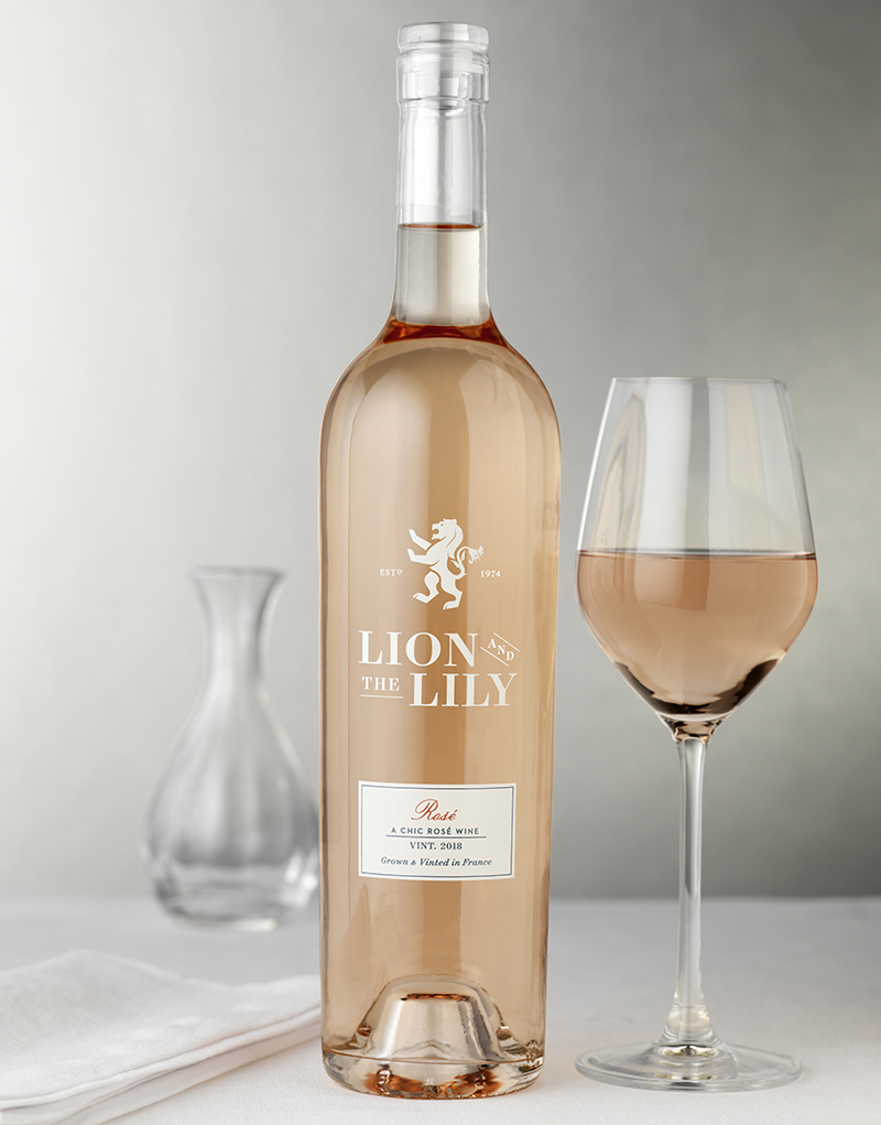 Lion and the Lily Wine Packaging Design & Logo