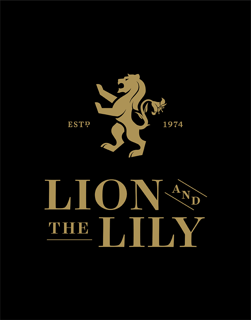 Lion and the Lily Logo Design