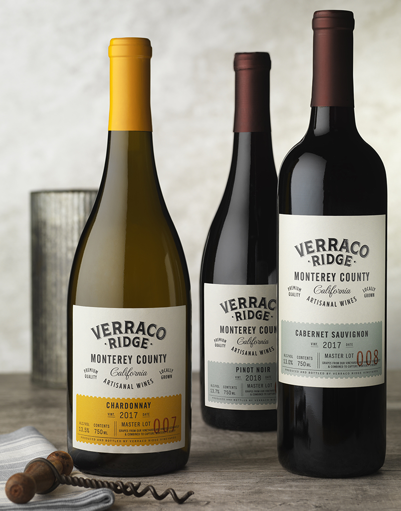Verraco Ridge Wine Packaging Design & Logo