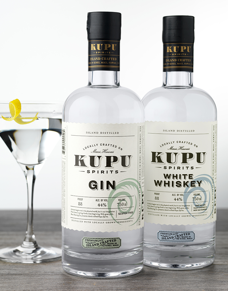 Kupu Spirits Packaging Design & Logo